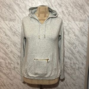Juicy Couture Knit Hoodie Grey Size Small